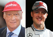 Niki Lauda hält Michael Schumacher für einen großen Kämpfer