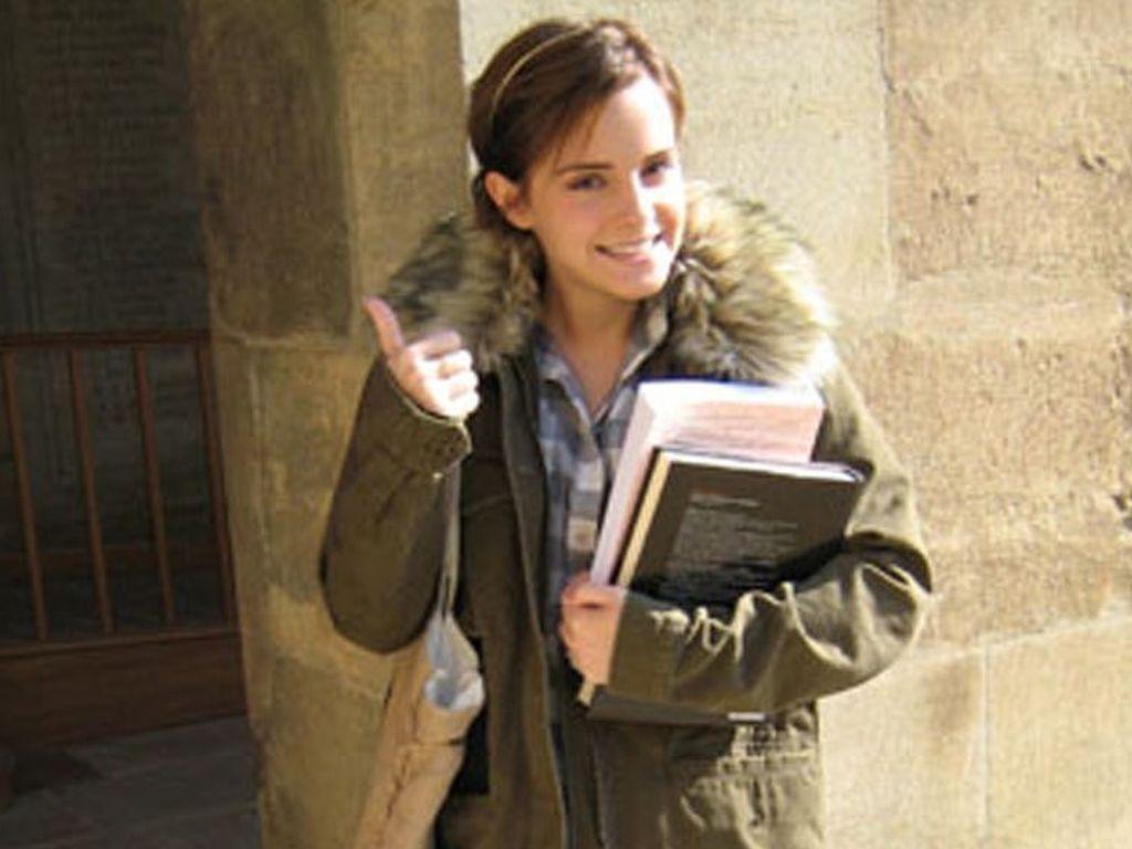 Emma Watson an der Uni