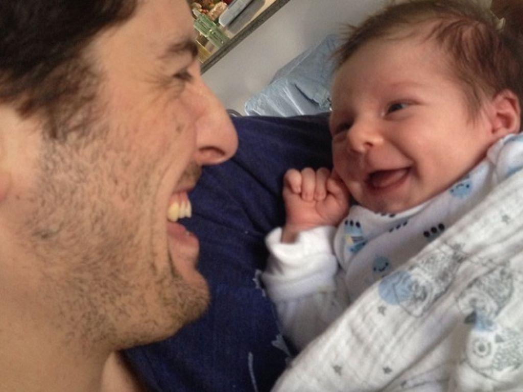 Jason Biggs mit seinem kleinen Sid