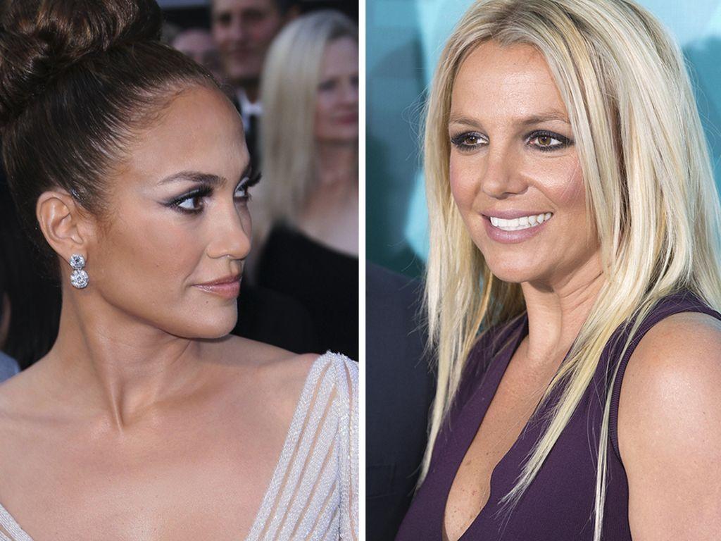 Jennifer Lopez und Britney Spears