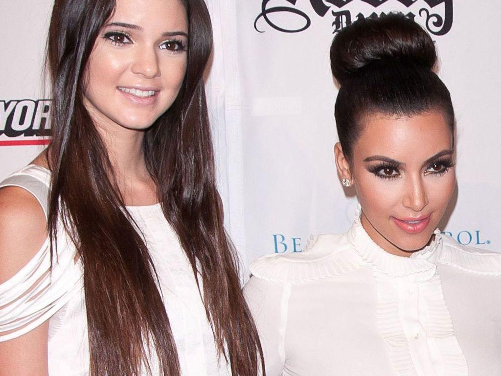 Kendall Jenner und Kim Kardashian