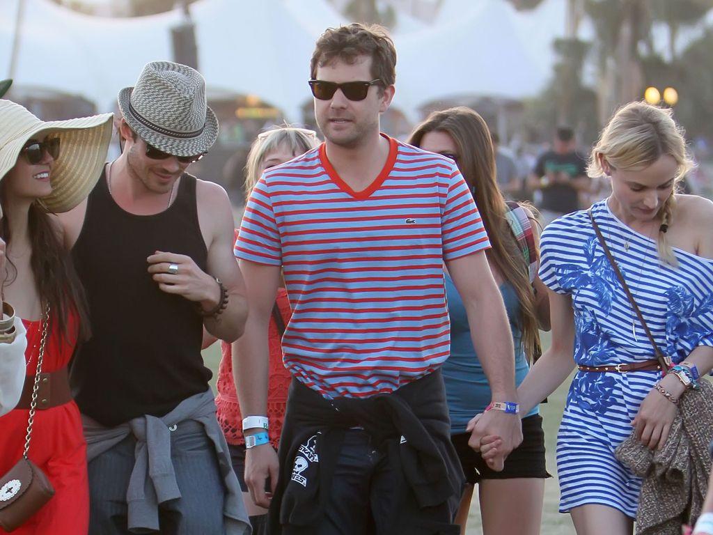 Nian Dobrev, Ian Somerhalder Joshua Jackson und Diane Kruger haben Spaß
