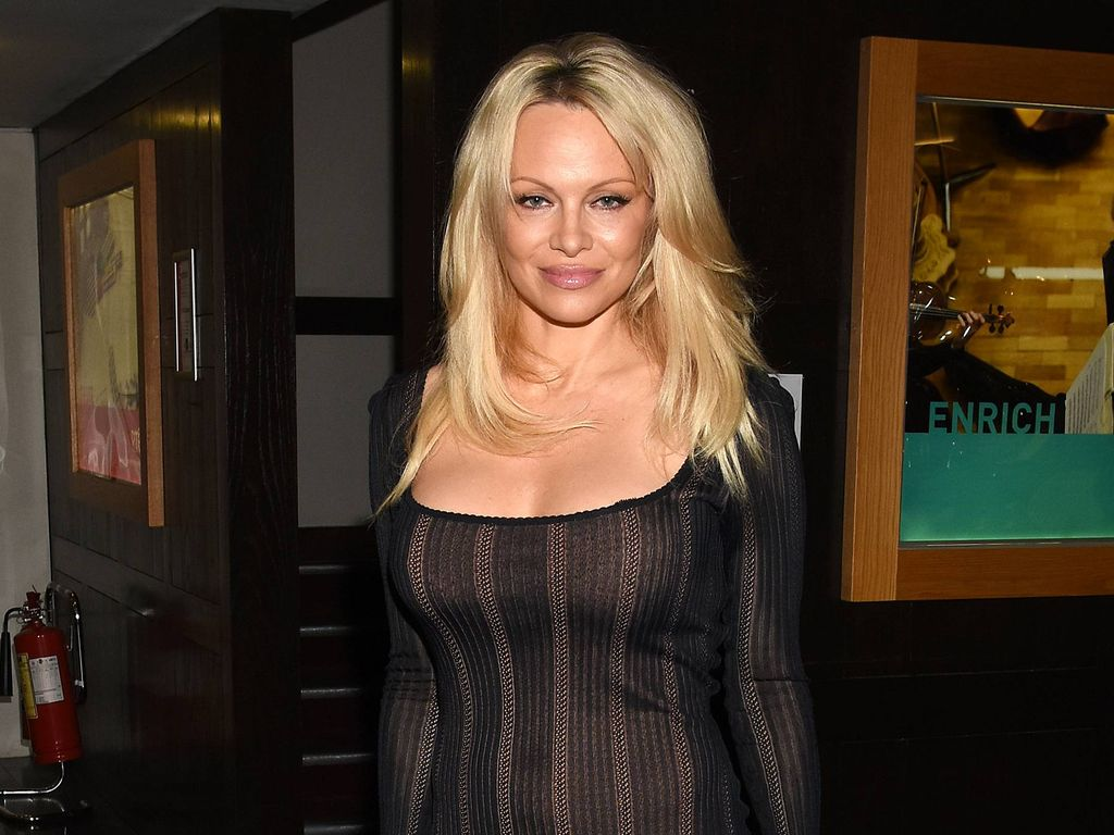 busen besuch pamela anderson zieht ins big brother haus. Black Bedroom Furniture Sets. Home Design Ideas