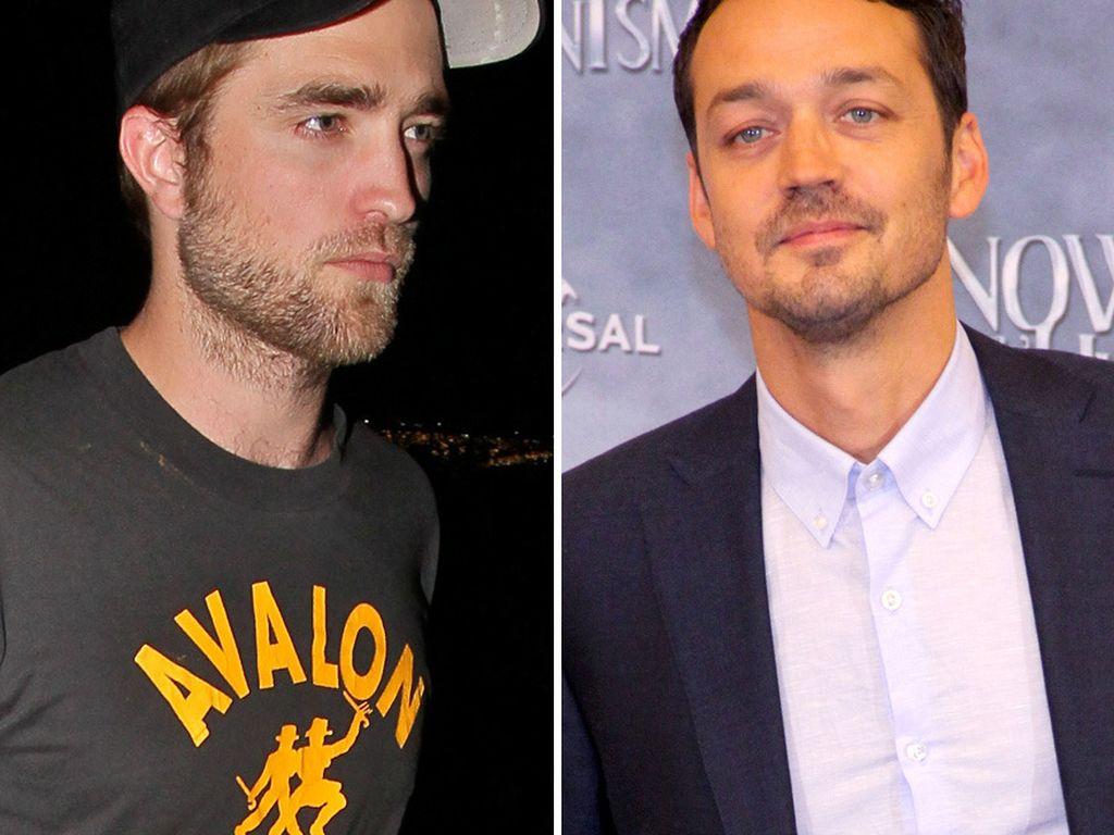 Robert Pattinson und Rupert Sanders