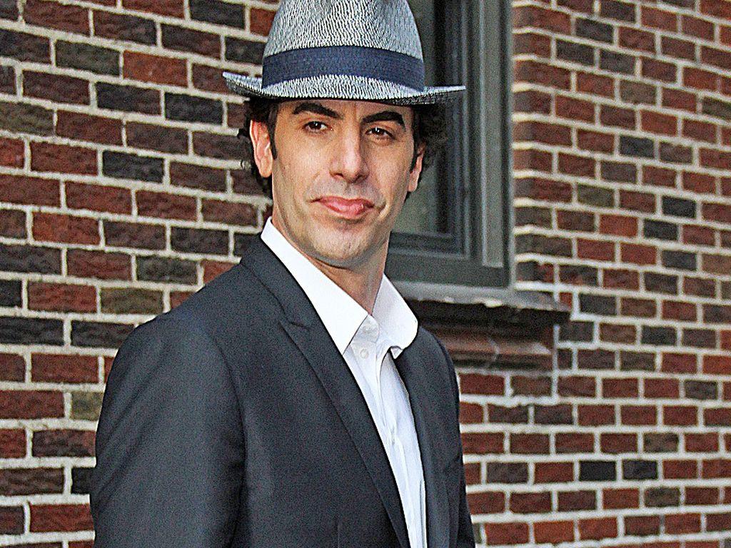 Sacha Baron Cohen im Anzug