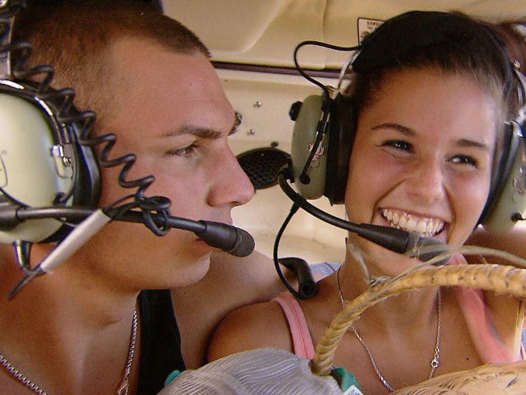 Sarah mit Pietro bei Star Race
