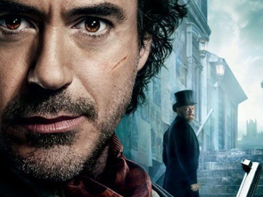 """Sherlock Holmes: A Game of Shadows"" Kinoplakat"