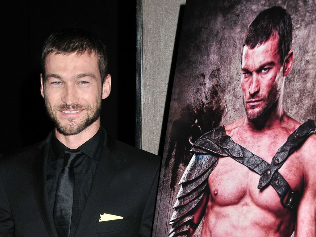 Spartacus-Star Andy Whitfield