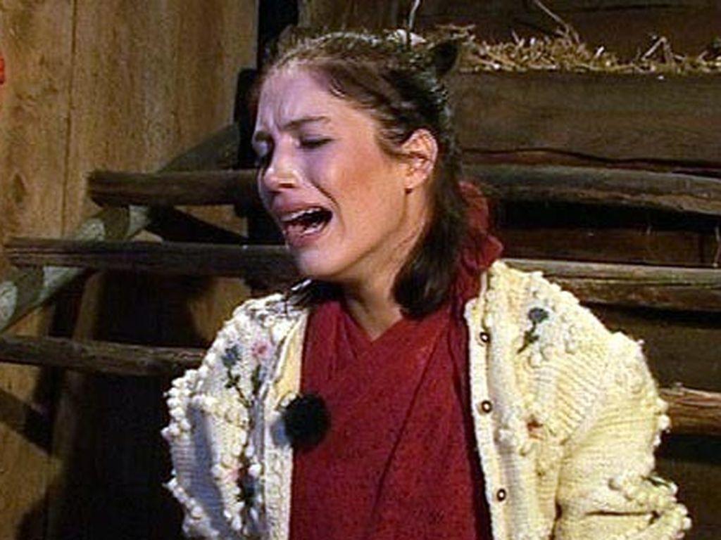 """Tessa weint bei """"Die Alm"""""""