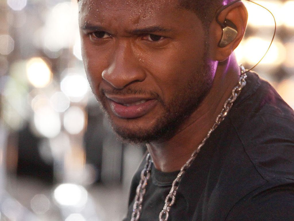 Usher bei einem Auftritt