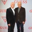Paul und Maurice Marciano freuten sich über den Erfolg der Runway Show