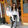 Sie begleitete ihre Mama nach New York zur Fashion Week