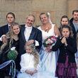Die Hochzeit des Paares liegt noch nicht lange zurück
