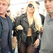 Doch dann zeigte sich: Lady GaGa trug einen Tanga