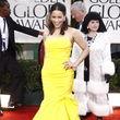 Zu den Golden Globes kam sie in einem gelben Abendkleid und sah hinreißend aus