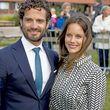 Prinz Carl Philip und Prinzessin Sofia strahlen um die Wette