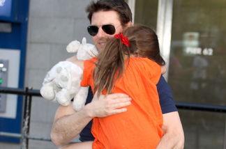Nach Monaten haben Tom Cruise und seine Tochter Suri sich diese Woche endlich wiedergesehen