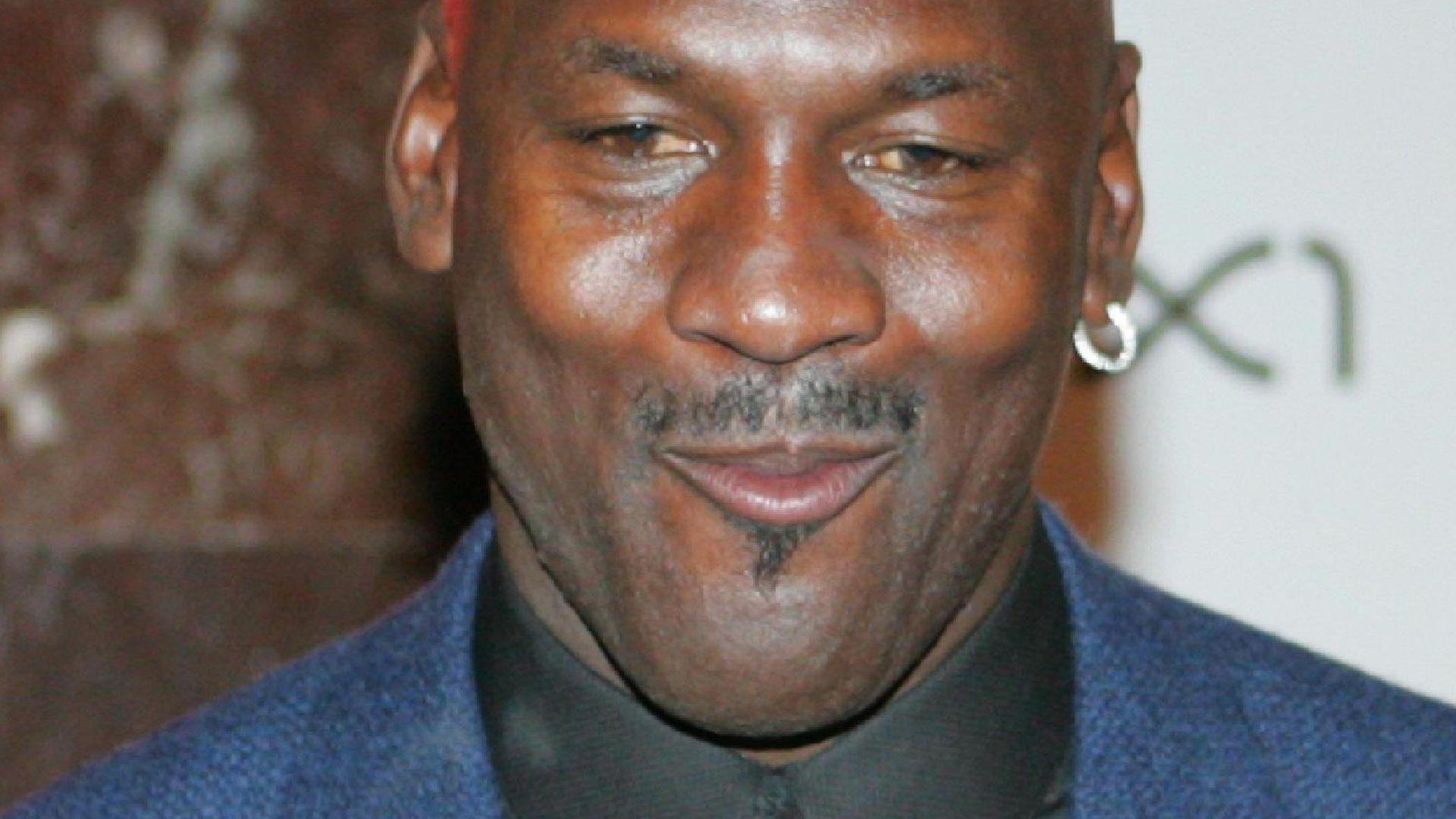 DNS-Test: Verleugnet <b>Michael Jordan</b> seinen Sohn? - michael-jordan-guckt-komisch