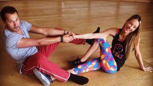 Alessandra Meyer-Wölden beim Training für Let's Dance