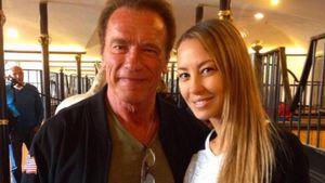 Alessandra Meyer-Wölden und Arnold Schwarzenegger