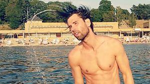 Alexander Keen im Wasser