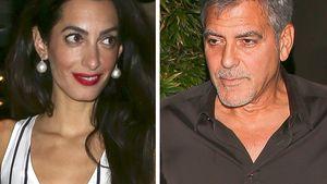 Amal Alamuddin und George Clooney in einer Collage