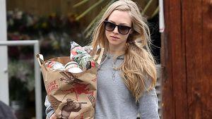 Amanda Seyfried kommt vollbepackt vom Einkaufen