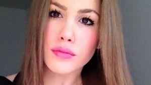 Angelina Heger mit braunem Haar