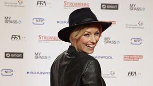 Annica Hansen mit Hut