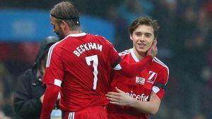Beckham wird für Beckham ausgewechselt