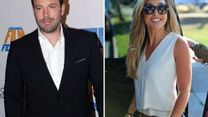 Ben Affleck und Christine Ouzounian Collage