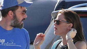 Ben Affleck und Jennifer Garner sprechen
