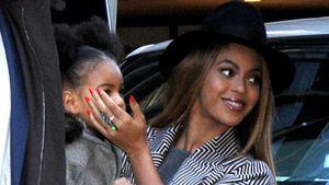 Beyoncé verdeckt Blue Ivys Gesicht