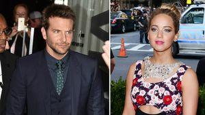 Bradley Cooper und Jennifer Lawrence in einer Collage
