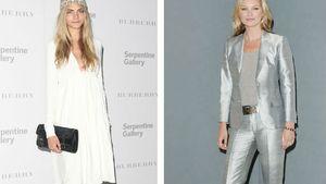 Cara Delvingne und Kate Moss