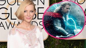 Cate Blanchett und das Thor-Plakat
