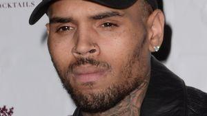 Chris Brown schaut traurig