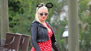 Christina Aguilera als Minnie Maus