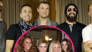 Collage: Backstreet Boys & Spice Girls