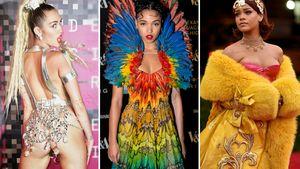 Collage FKA Twigs, Miley Cyrus, Rihanna