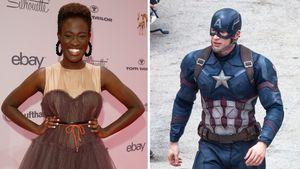 Collage Ivy Quainoo und Captain America
