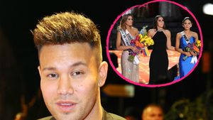 Collage Kanye West & Miss Universe-Wahl