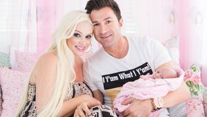 Daniela Katzenberger und ihre kleine Familie