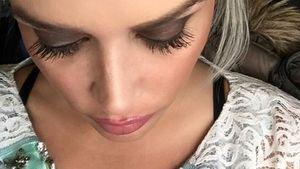 Daniela Katzenberger zeigt ihre Wow-Wimpern