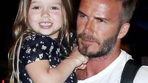 David Beckham und Harper Seven