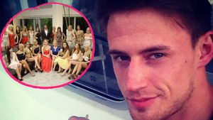Der Fast-Bachelor Cedric Pick und die Bachelor Girls in einer Collage