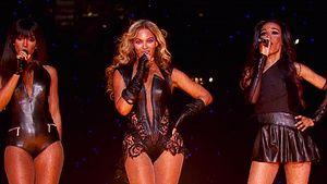 Destiny's Child in Flammen beim Superbowl 2013