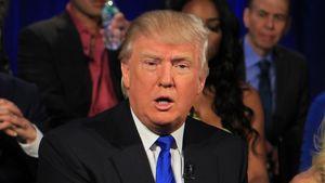 Donald Trump guckt verdutzt
