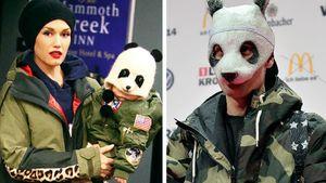 Gwen Stefani, ihr Sohn und Rapper Cro