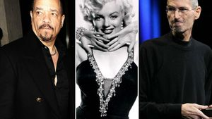 Ice-T, Marilyn Monroe & Steve Jobs Collage
